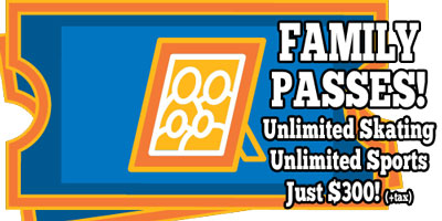 Learn more about our FAMILY PASSES